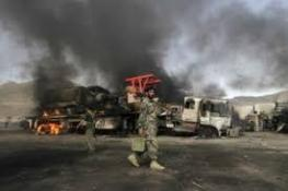 AFGANİSTAN'DA NATO KONVOYLARINA İNTİHAR SALDIRISI