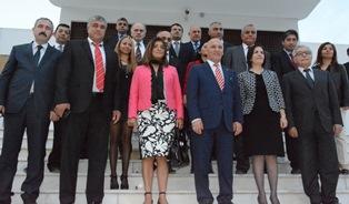 SİBER, KARTAL BELEDİYE BAŞKANI ÖZ VE GÜREL'İ KABUL ETTİ