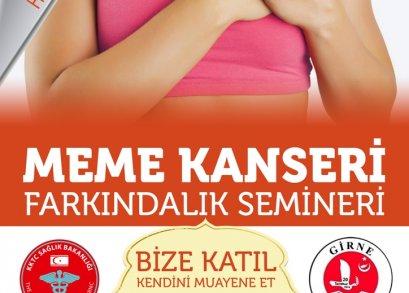 MEME KANSERİ FARKINDALIK SEMİNERİ