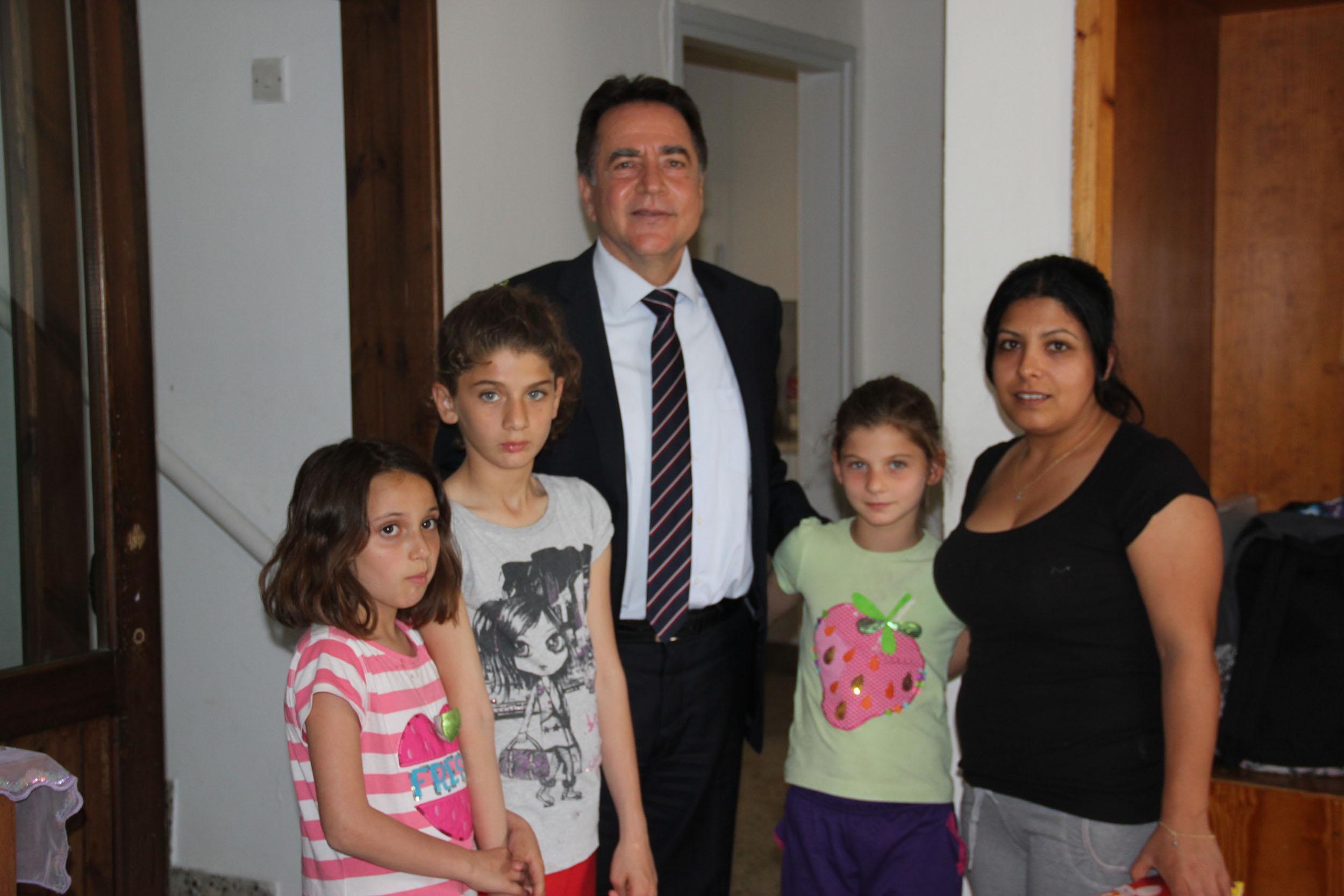 LTB BAŞKANI FELLAHOĞLU SOS ÇOCUK KÖYÜNÜ ZİYARET ETTİ