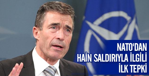 NATO'DAN HAİN SALDIRIYLA İLGİLİ İLK TEPKİ