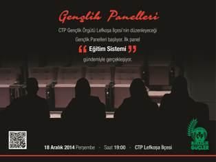 CTP GENÇLİK PANELLERİ BAŞLIYOR