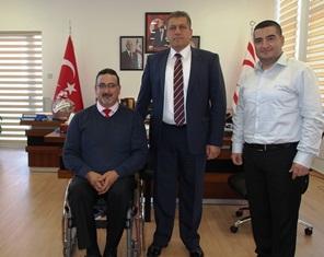 ARTER, KTOÖD BAŞKANI KİBRİT'İ KABUL ETTİ