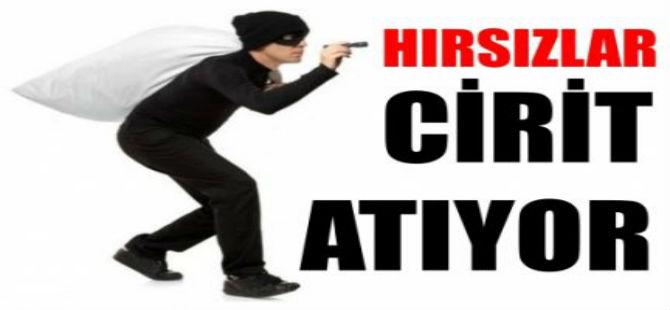 GAZİMAĞUSA'DA HIRSIZLAR CİRİT ATIYOR!