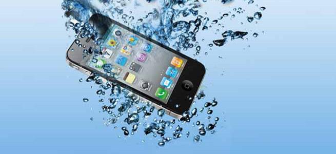 Eğer telefonunuz suya düşerse...