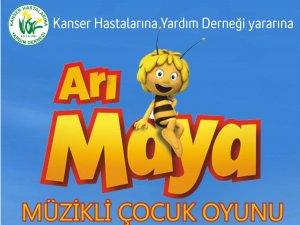 """""""ARI MAYA"""" DESTEK İÇİN OYNAYACAK"""