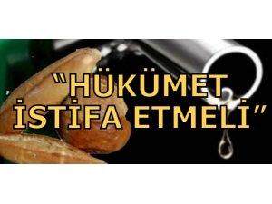 TÜRK-SEN HÜKÜMETİ PROTESTO ETTİ
