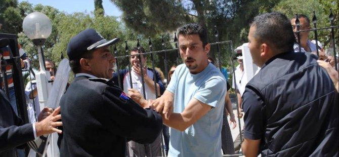 POLİS MÜDÜRÜNÜ DARP ETMEKLE SUÇLANAN KTHY'Lİ...