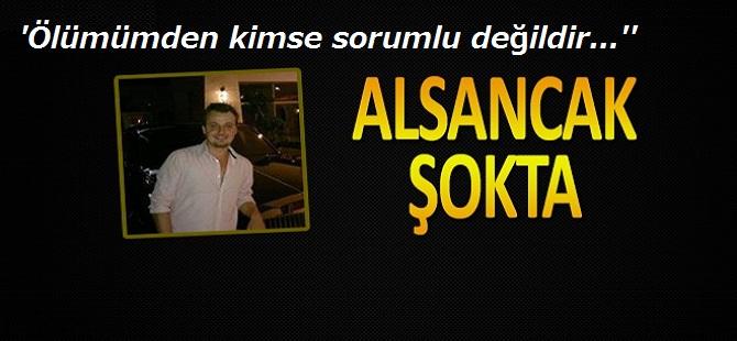 """""""ÖLÜMÜMDEN KİMSE SORUMLU DEĞİL"""" ŞEKLİNDE NOT BIRAKTI VE"""