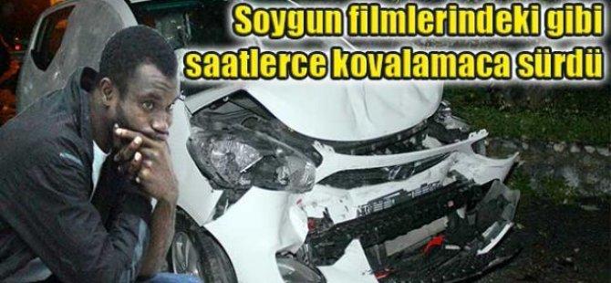 GİRNE SOKAKLARINDA FİLMLERİ ARATMAYAN KOVALAMACA!