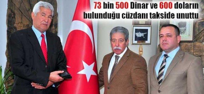 KKTC'DEN ADANA'YA GİDERKEN SERVET UNUTTU!