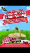 """""""İNÖNÜ MART 9'U BAHAR ŞENLİĞİ"""" PAZAR GÜNÜ YAPILACAK"""