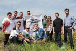 ODTÜ KUZEY KIBRIS KAMPUSU'NDE 2 BİN FİDAN DİKİLDİ