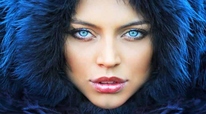 Yok artık...İsterseniz gözlerinizi maviye çeviriyorlar...