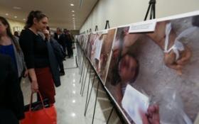SURİYE'DEKİ VAHŞETİN FOTOĞRAFLARI BM'DE