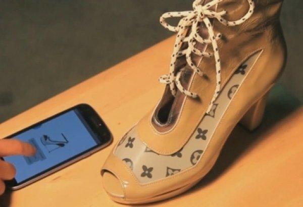 Bu ayakkabı istediğiniz renge dönüşüyor!