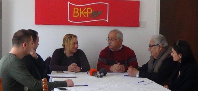 TÜRKİYE'DEN HALKLARIN DEMOKRATİK PARTİSİ, BKP'Yİ ZİYARET ETTİ