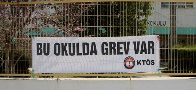 ŞEHİT ERTUĞRUL İLKOKULU'NDA GREV