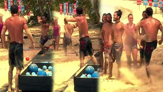 Survivor'da gergin anlar
