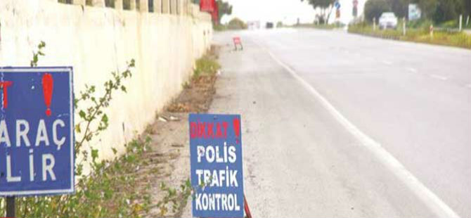 LEVHA VAR, POLİS YOK