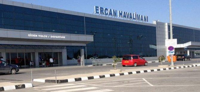 ERCAN HAVALİMANI'NDA EYLEM !