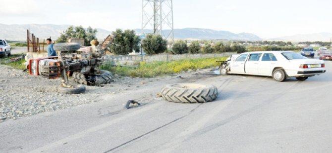 ŞANS ESERİ UCUZ ATLATILDI