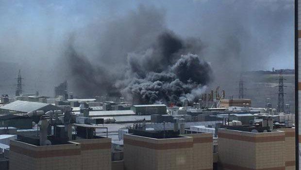 Dev Ticaret Merkezinde Büyük Yangın!