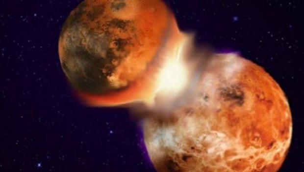 Dünya'nın uydusu Ay, nasıl oluştu?