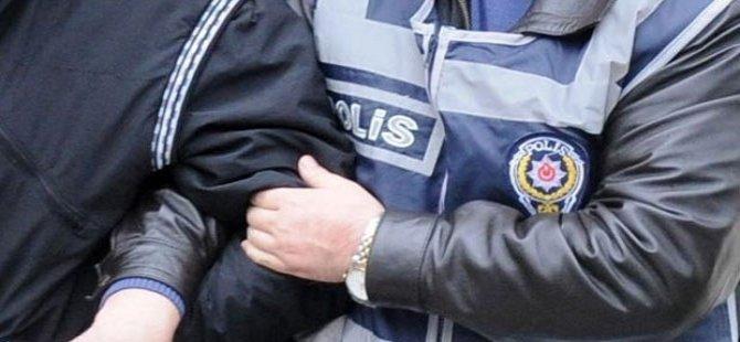 POLİS EVE BASKIN YAPTI...