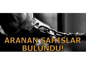 ARANAN ŞAHISLAR BULUNDU!