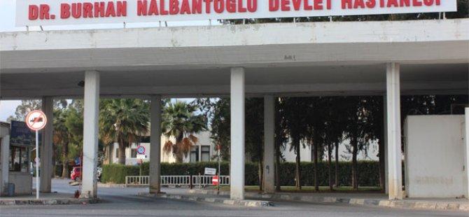 NALBANTOĞLU HASTANESİ'NDE DELİ DANA!