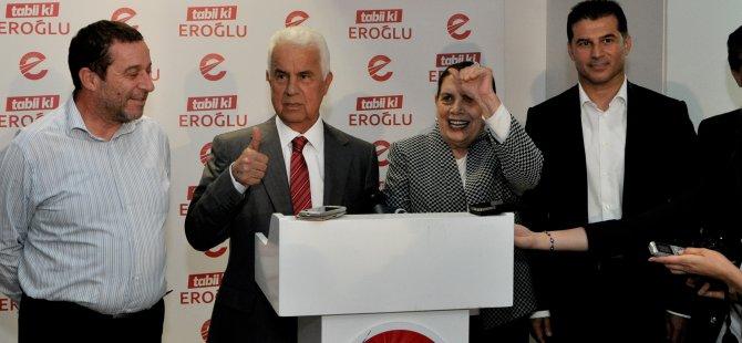 """""""BİRİNCİ TURUN GALİBİ OLDUĞUM İÇİN MUTLUYUM"""""""