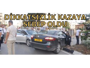 DİKKATSİZLİK KAZAYA SEBEP OLDU!