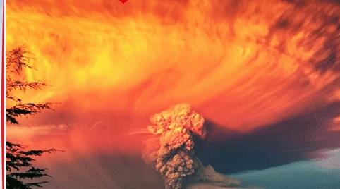 Calbuco volkanı 43 yıl sonra uyandı!