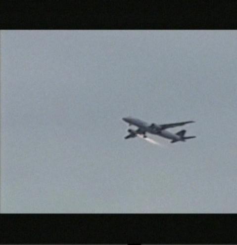 THY Uçağı yolcu Taşırken Havada Alev Aldı!