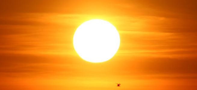 Güneşle gelen tehlike!