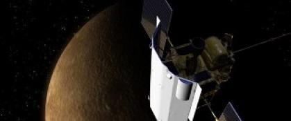 NASA UZAY ARACI MERKÜR'E ÇAKILDI