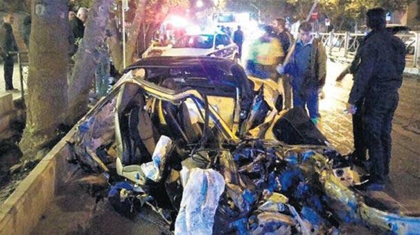 Tahran esrarengiz kazayı konuşuyor
