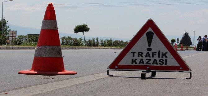 YİNE TRAFİK KAZASI!
