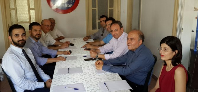 TDP-AKEL ORTAK KOMİTESİ TOPLANDI