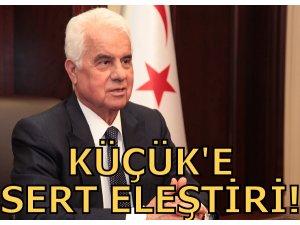 EROĞLU'NDAN KÜÇÜK'E SERT ELEŞTİRİ!