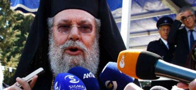 HRİSOSTOMOS: 'ERDOĞAN KİBİRLİ'