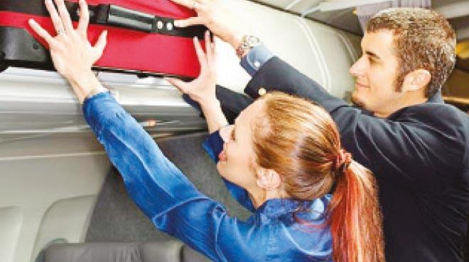 Uçak bagajlarının boyutu değişiyor