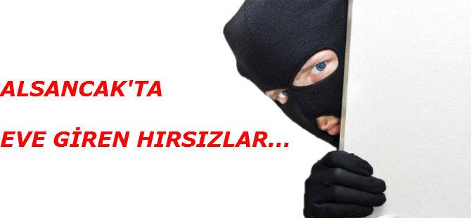 ALSANCAK'TA EVE GİREN HIRSIZLAR...