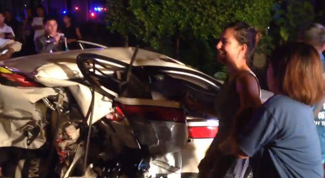 Ünlü oyuncu kaza yaptı! 1 polis öldü