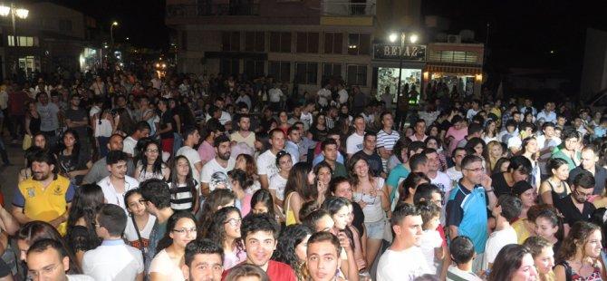 GÜZELYURT FESTİVALİ'NDE İNDİRİM ŞÖLENİ