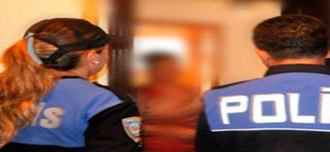 POLİS ŞÜPHELENİP ARAMA YAPTI