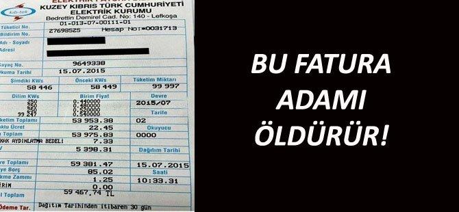 BU FATURA ADAMI ÖLDÜRÜR!