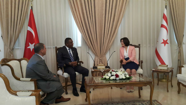 SİBER TÜRKİYE- MADAGASKAR DOSTLUK GRUBUNU KABUL ETTİ