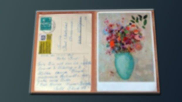Tam 50 yıl sonra gelen posta...